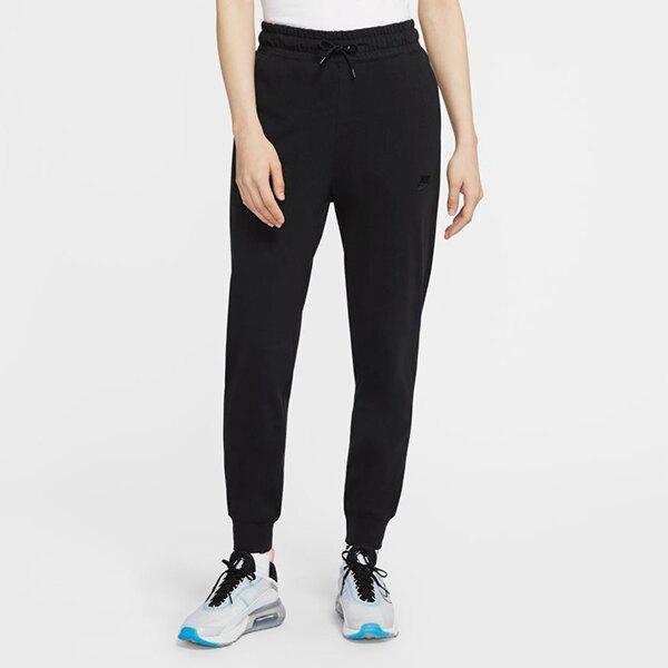 【領券最高折$250】【NIKE】W NSW JOGGER JRSYTOP 女裝 褲子 休閒 黑 長褲 -CQ9900010