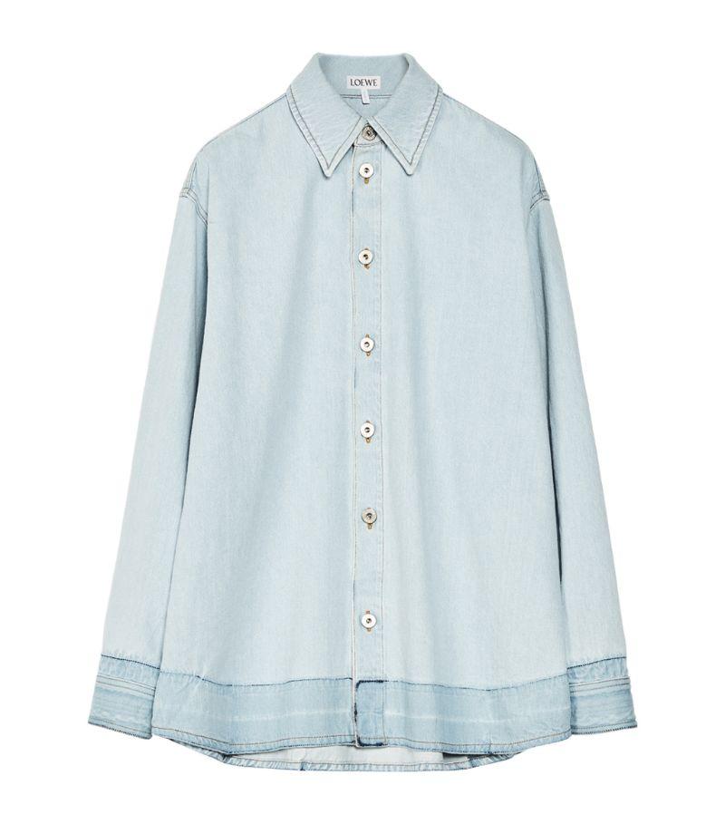 Loewe Denim Oversized Shirt