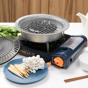 卡旺 攜帶式卡式爐組合包 型號K1-D008 K-ONE 卡式爐+燒烤組
