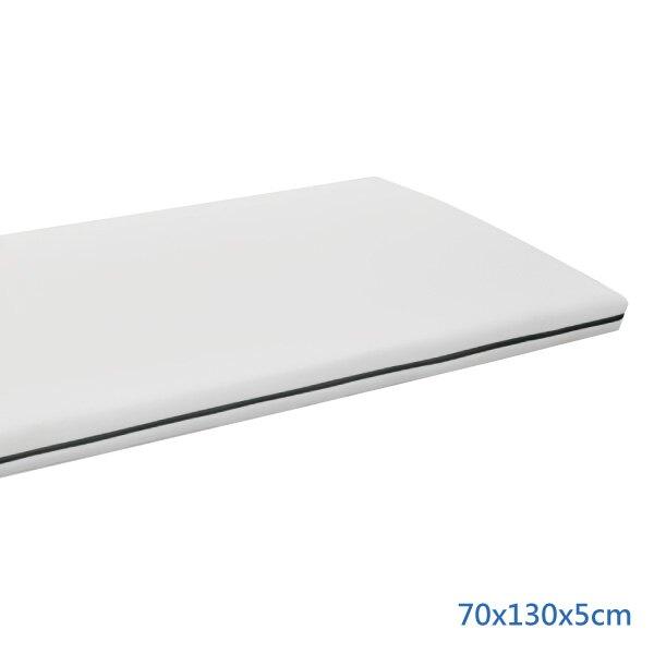 PAMABE 水洗透氣護脊嬰兒床墊(70x130x5cm) 經典白