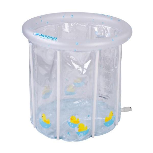 英國 Swimava P2時尚小鴨簡易家庭式嬰兒水池|泳池【麗兒采家】