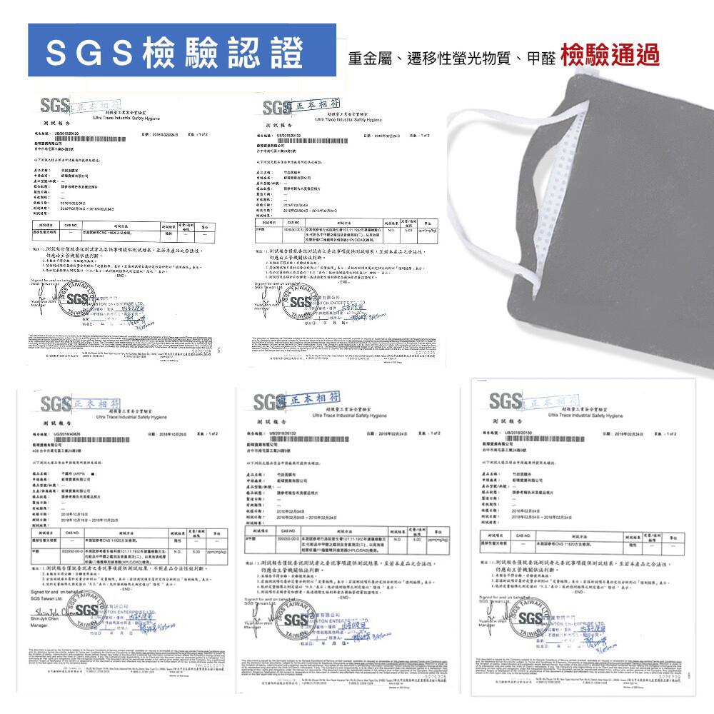 竹纖台灣製 面膜級 竹碳纖維 口罩保潔墊片 (平面3d立體可用 延長口罩使用 成人大人 口罩套面
