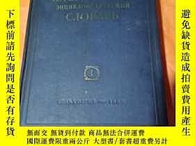 二手書博民逛書店罕見獸醫字典(1)Y237628 出版1950