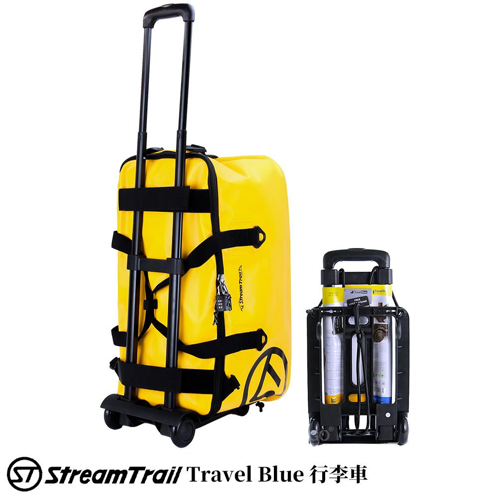 【日本 Stream Trail】英國藍旅 Travel Blue 行李車 高承重 拉桿車 行李箱 折疊式 手拉車