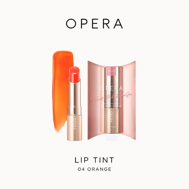 OPERA渲漾水色唇膏N-04橙橘3.9g【花嫁唇膏】