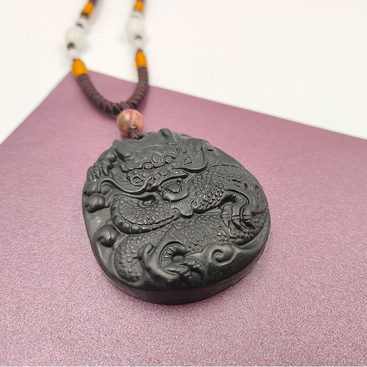 【藝品】天鐵雕件項鍊 - 龍《泡泡生活》首飾 飾品 開運小物