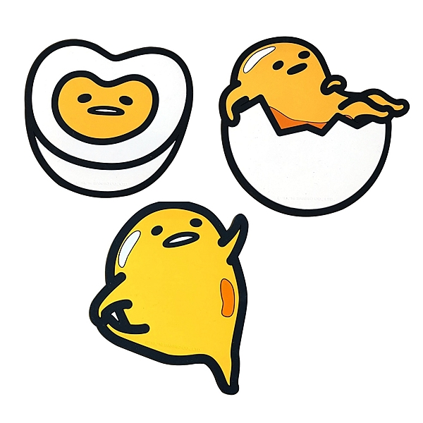 【Sanrio三麗鷗】蛋黃哥止滑杯墊-共3款 [原價99]