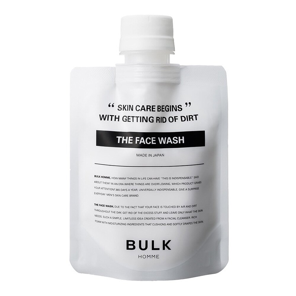BULK HOMME 本客 潔顏霜100g(控油保濕洗面乳) - |日本必買|日本樂天熱銷Top|日本樂天熱銷