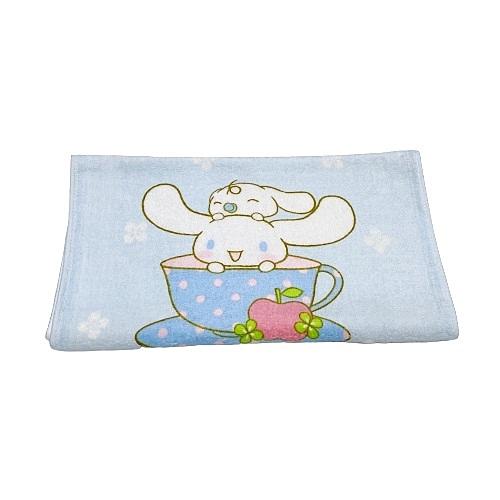 【Sanrio三麗鷗】大耳狗咖啡杯毛巾 34x76cm 100%棉 台灣製造