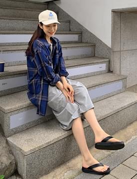 韓國空運 - Most Overfit Check Shirt 襯衫
