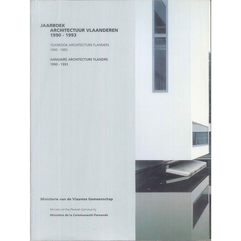 Yearbook Architecture Flanders 1990-1993 -9789040300349