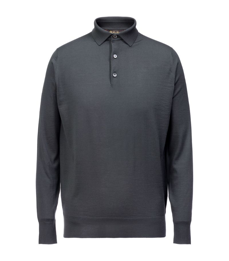 Loro Piana Wool Polo Shirt
