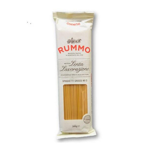 Rummo No.5長型粗圓麵 Spaghetti Grossi 500公克