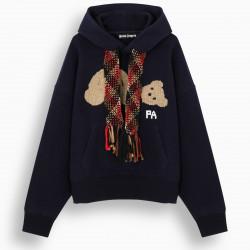 Palm Angels Blue Bear hoodie