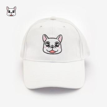 豆卡頻道_老帽-白色