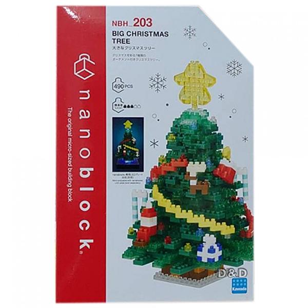《 Nano Block 迷你積木 》NBH_203 BIG版聖誕樹 / JOYBUS玩具百貨