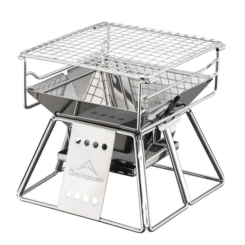 【悠遊戶外】 柯曼x-mini 全不鏽鋼焚火台 燒烤架