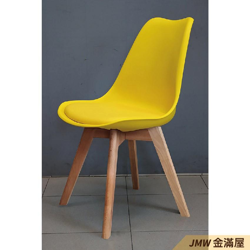 寬49cm餐椅 北歐工業風 書桌椅 長凳 實木椅 皮椅布椅 餐廳吧檯椅 會議椅【金滿屋】E777-10