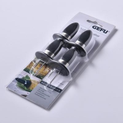 德國Gefu 燒烤用玉米芯座 4入