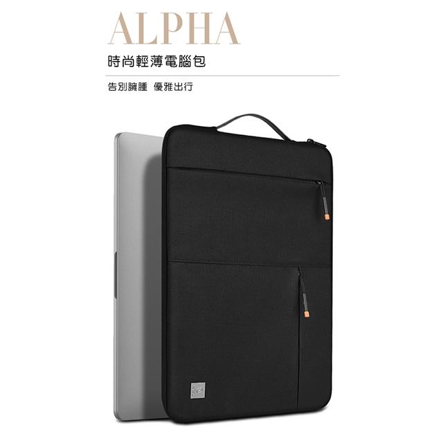 WiWU吉瑪仕 Alpha Slim Sleeve阿爾法薄款內膽包電腦包筆電包14吋