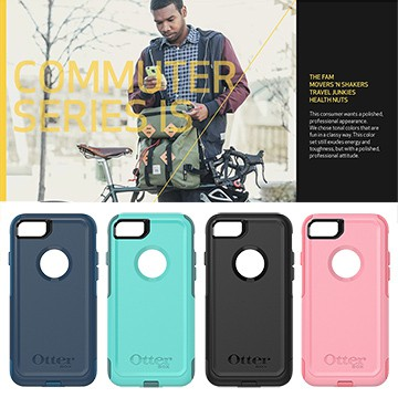 【OtterBox 正公司貨】iPhone7 /iphone8 4.7吋 Commuter 通勤者系列 防撞 手機 背蓋