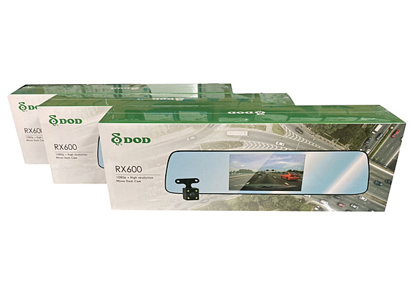 DOD RX600 【下單折扣/再送32G】5吋/觸控/後視鏡 雙錄 行車記錄器/支援倒車顯影