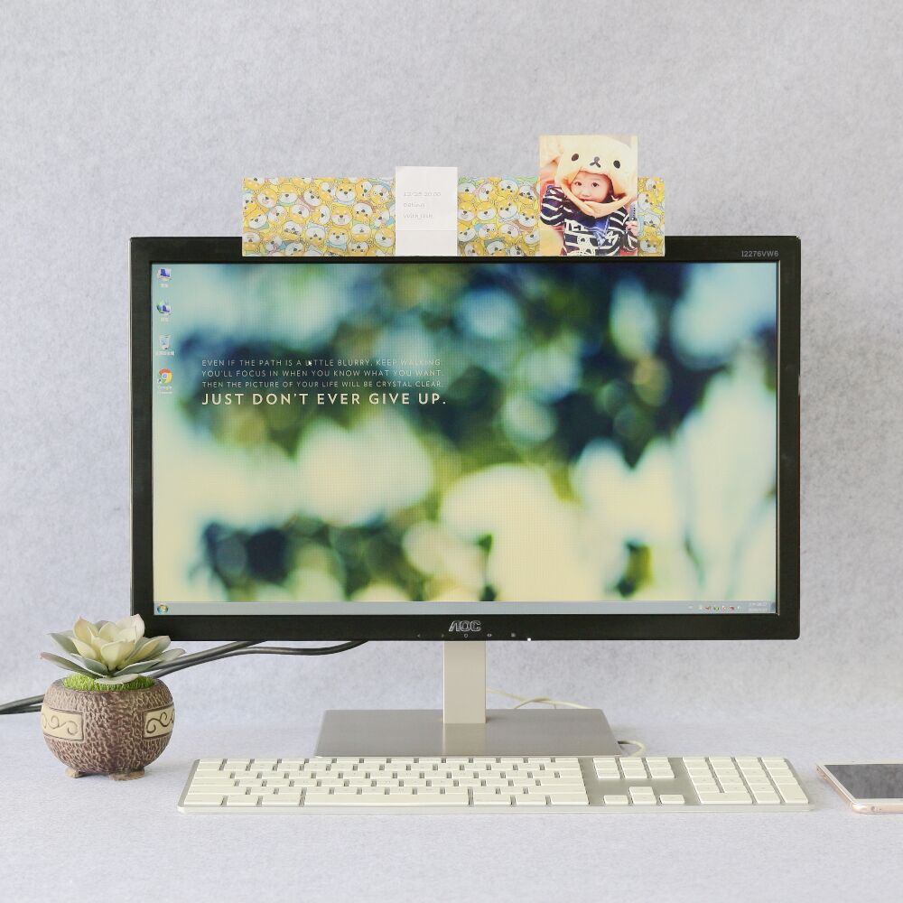 【歐士OSHI】電腦螢幕留言備忘版-柴犬米路B款 MEMO夾/禮物/辦公用品/便利貼留言板/百元以下