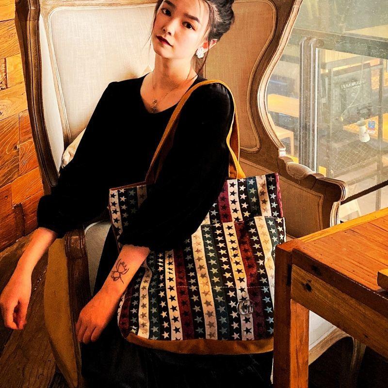 【現貨免運】網紅 女包 新款 單肩包 手提包女 大容量 港風 百搭 大包 學生 上班 包包