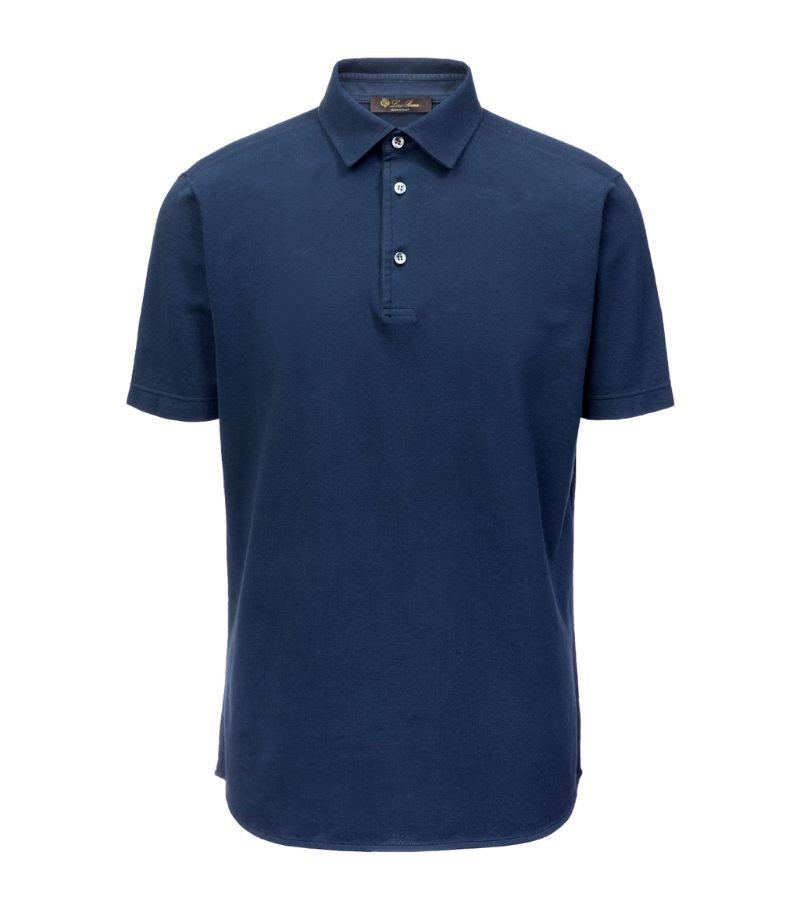 Loro Piana Cotton Polo Shirt
