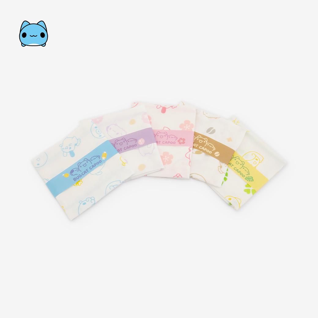 貓貓蟲咖波_咖波好朋友紗布巾組合包