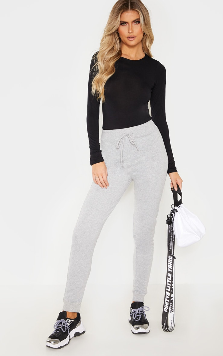 Tall Grey Sweat Track Pants