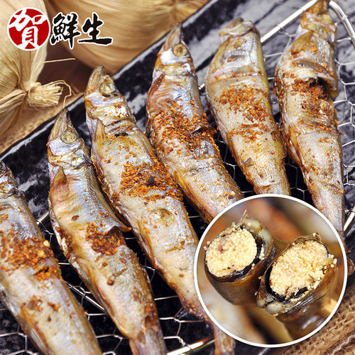 【賀鮮生】加拿大帶卵極鮮柳葉魚3包(500g/包)