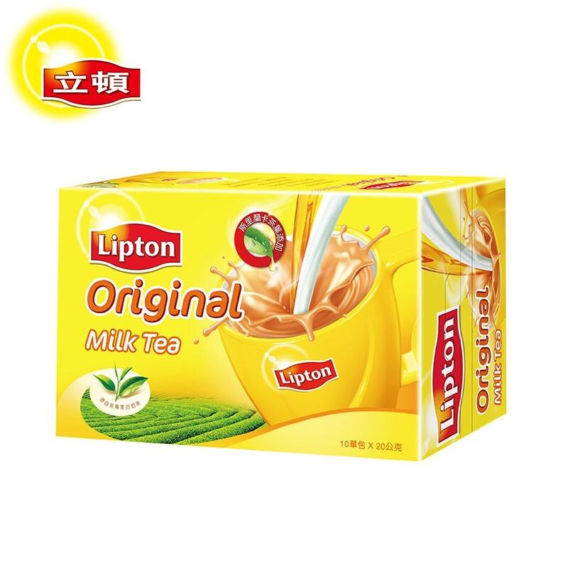 立頓 奶茶粉原味盒裝 20gx10入/盒/組合購