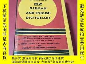 二手書博民逛書店《new罕見german and english diction