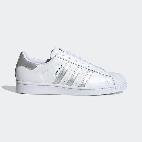 Adidas Superstar [FX2329] 女鞋 運動 休閒 慢跑 貝殼 復古 經典 潮流 穿搭 愛迪達 白 銀