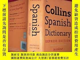 二手書博民逛書店Collins罕見Spanish Concise Diction