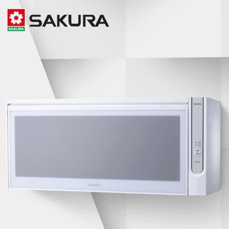【促銷】SAKURA櫻花 烘碗機80公分白色 Q-7565/Q-7565WL/Q-7565AWL含運送