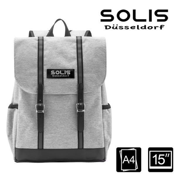 SOLIS【德克薩斯系列】Lassig 雙磁釦方型後背包