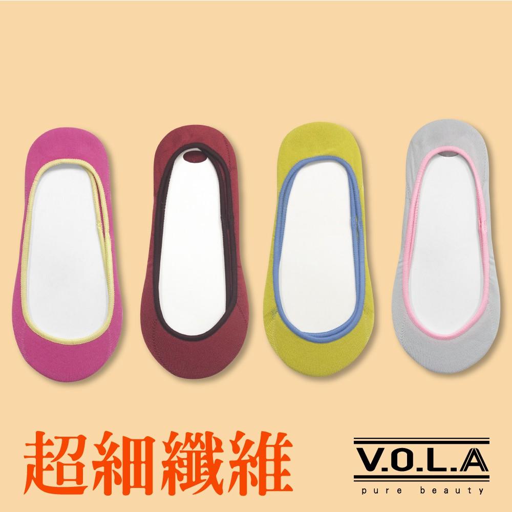 [VOLA]淺口隱形襪 不掉跟 超柔綿