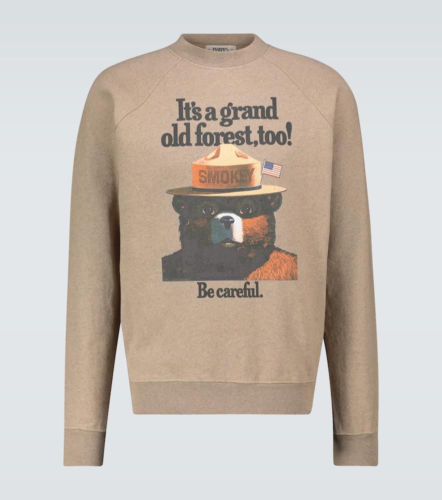 Smokey Bear graphic sweatshirt