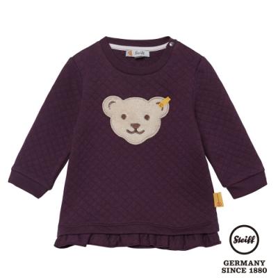 STEIFF德國精品童裝   熊熊滾邊 長袖T袖衫