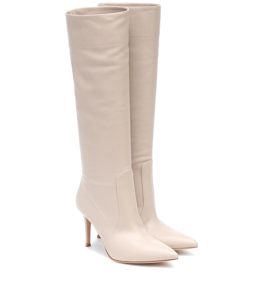 Hansen 85 leather knee-high boots