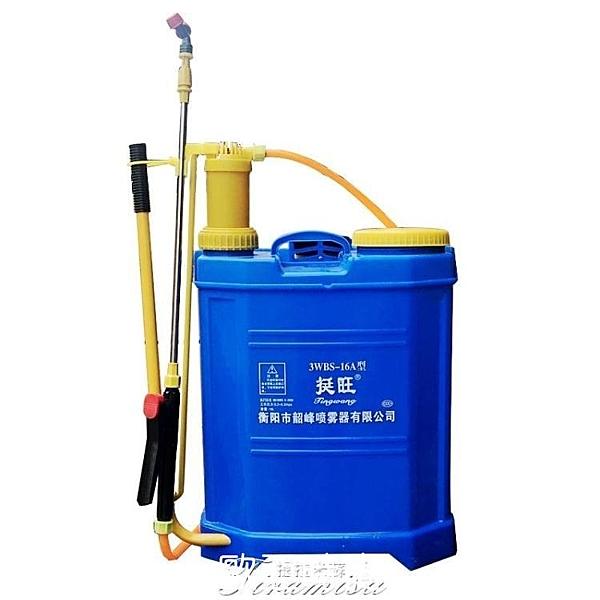噴霧器農用小型背式高壓力打藥桶氣壓式噴霧瓶農藥手動澆花噴水壺 【快速】
