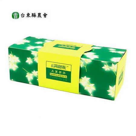 台東縣農會 五葉蔘茶(任選) 40公克(2g*20包入/盒