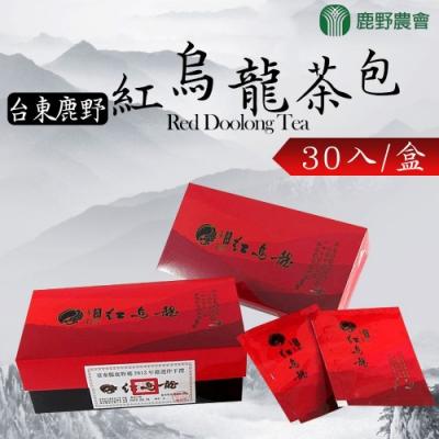 鹿野農會 紅烏龍茶包(2.5gx30入/盒) x2盒