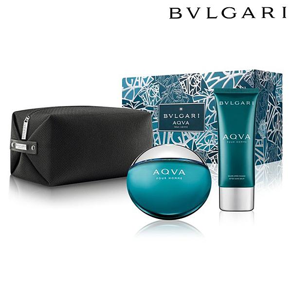 【現貨】寶格麗 BVLGARI AQVA 水能量男性淡香水禮盒 (淡香水+鬍後乳+盥洗包) 【SP嚴選家】