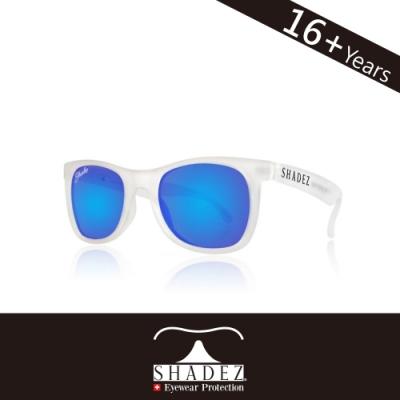 瑞士 SHADEZ 太陽眼鏡 【偏光-白框湛藍 SHZ-209】成人
