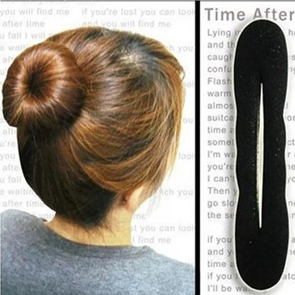 盤髮器-大號海綿花苞頭盤髮器 髮圈 髮刳an shop
