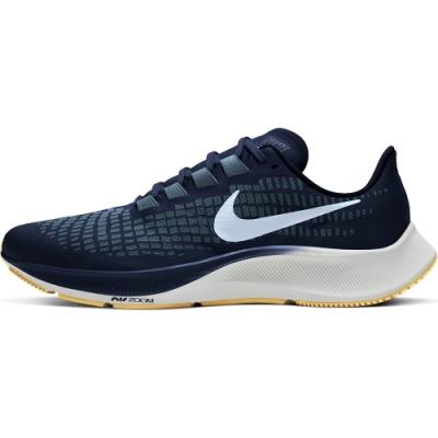 NIKE 慢跑鞋 緩震 路跑 健身 訓練 運動鞋 男鞋 藍 BQ9646402 AIR ZOOM PEGASUS 37