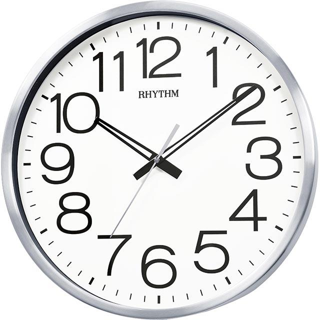 日本麗聲鐘-現代造型極清大字大廣角高品質超靜音掛鐘